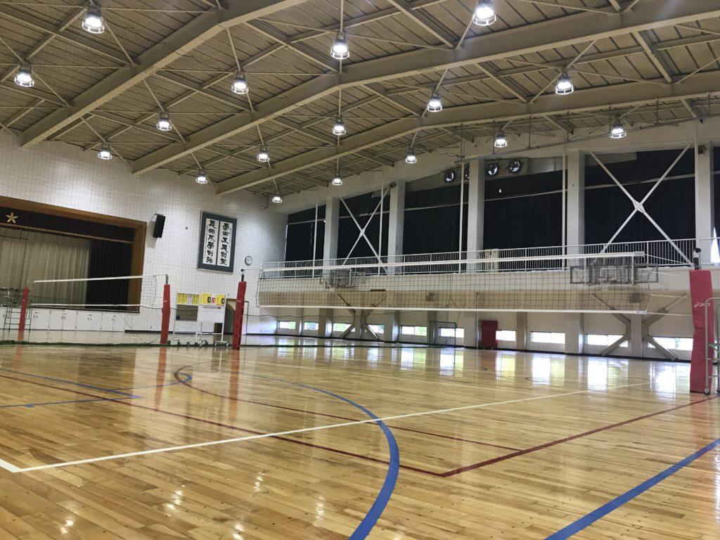 東京学館高校 第1体育館