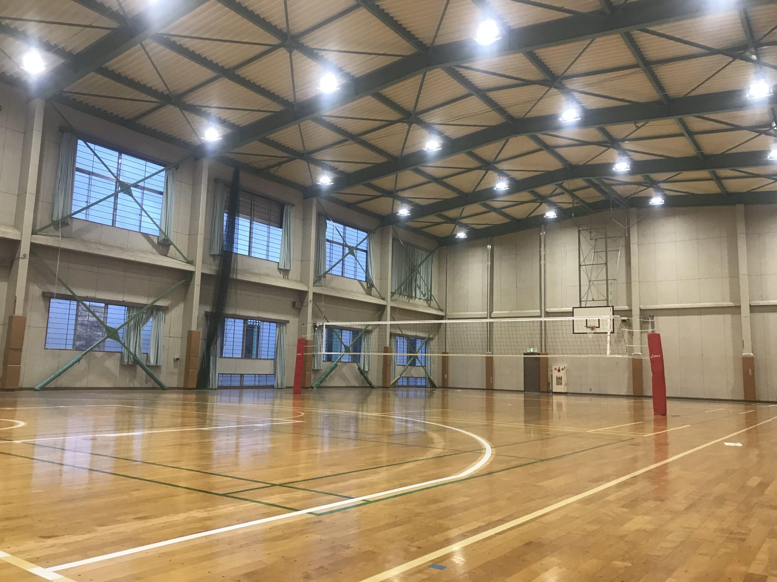 東京学館男子バレー部第2体育館
